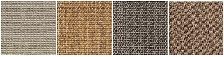 Selection of natural rugs - Sisan rugs
