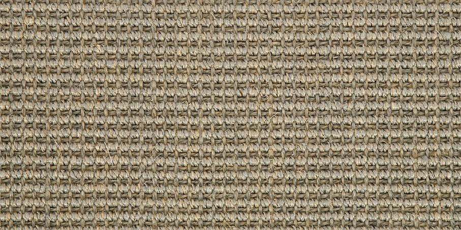 Aluminium Big Bouclé Accents Sisal Carpet