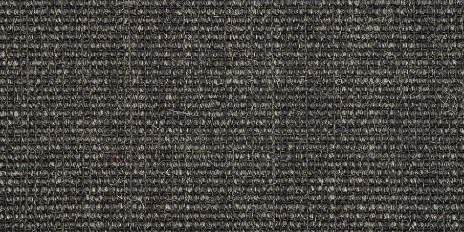 Anthracite Small Bouclé C Sisal Carpet