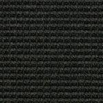 Black Big Bouclé Accents Sisal Carpet