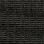 Black Small Bouclé Accents Sisal Carpet