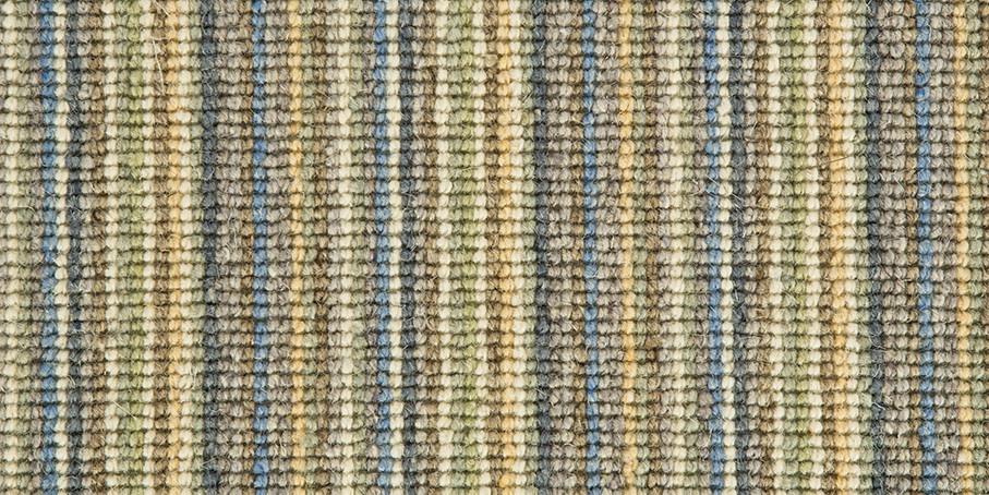 Blue   Gold Mississippi Wool Carpet