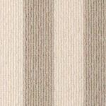 Bone Olive Blocstripe Wool Runner