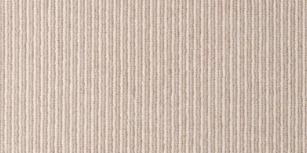 Bone Olive Pin Pinstrip Wool Carpet