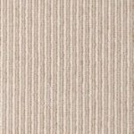 Bone Olive Pin Pinstrip Wool Runner