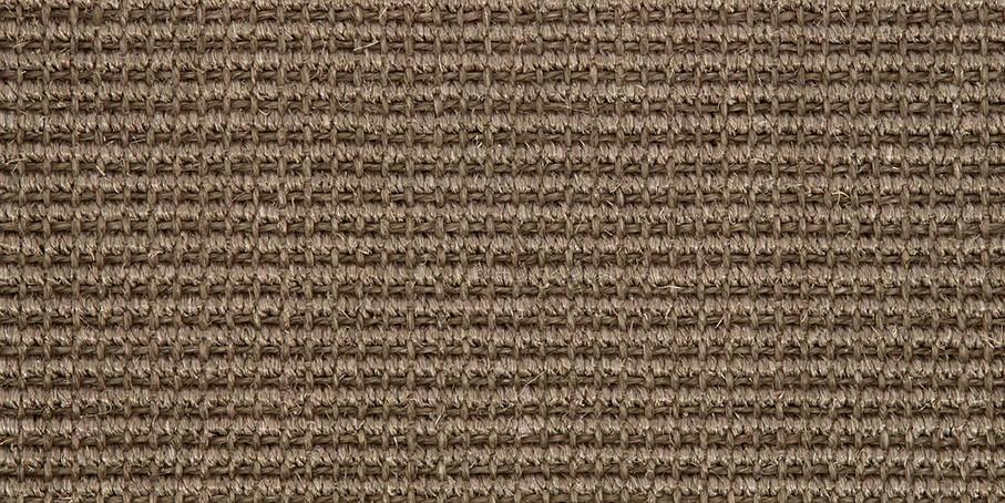 Brown Big Bouclé Accents Sisal Carpet
