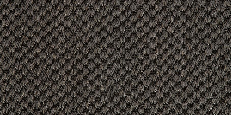 Carbon Oriental Sisal Carpet