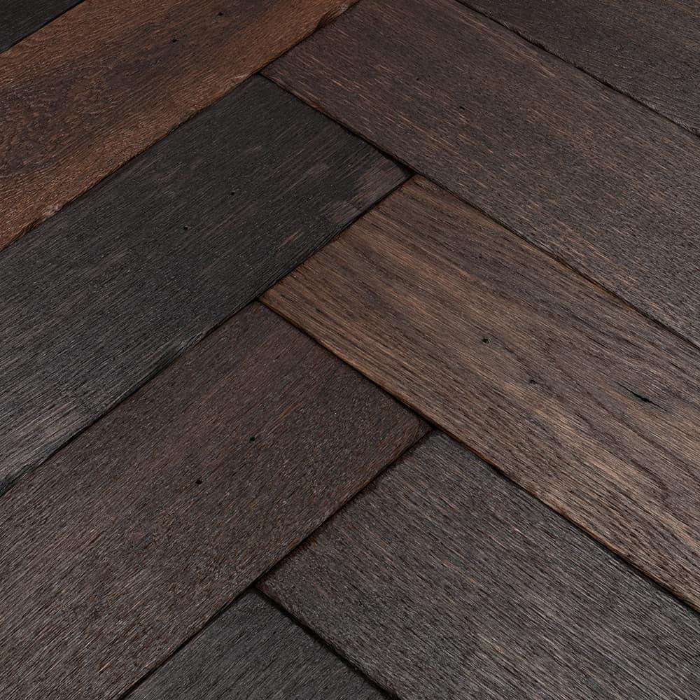 Charred Oak Goodrich Woodpecker Flooring