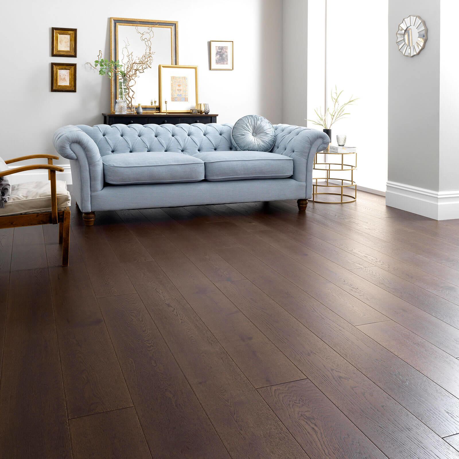 Chocolate Oak Harlech Woodpecker Flooring Lifestyle