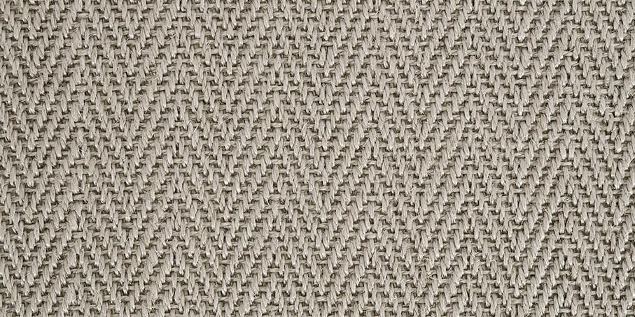 Fresh Silver Harmony Herringbone Sisal Carpet