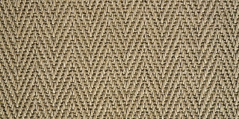 Light Caramel Harmony Herringbone Sisal Carpet
