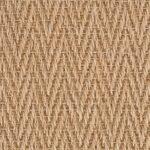 Light Honey Herringbone Sisal Carpet