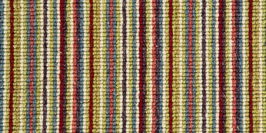 Lime   Red Mississippi Wool Carpet