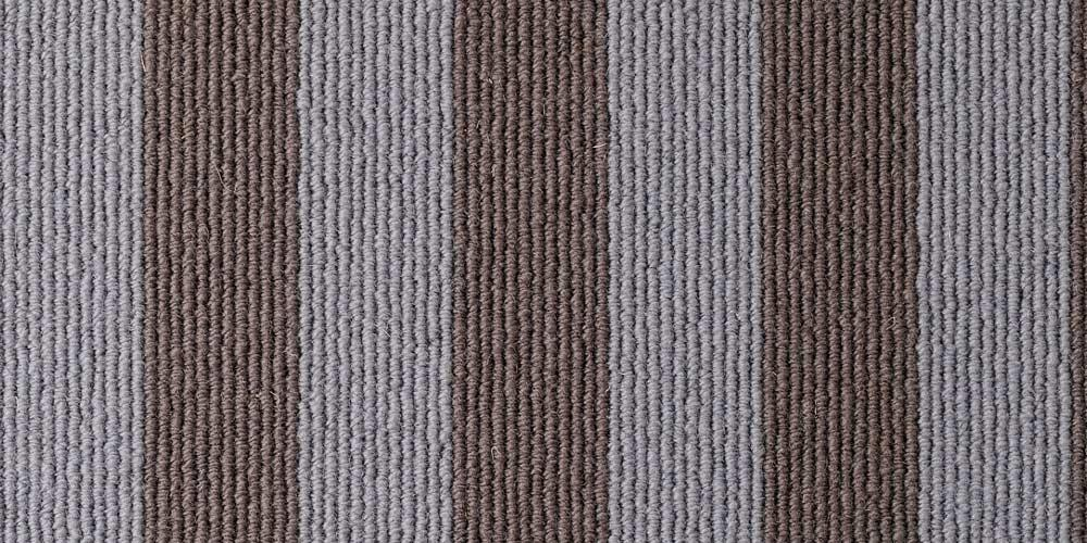 Mineral Sable Blocstripe Wool Runner