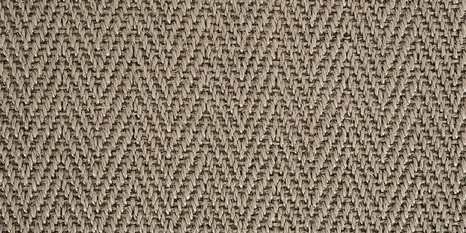 Moon Frost Harmony Herringbone Sisal Carpet