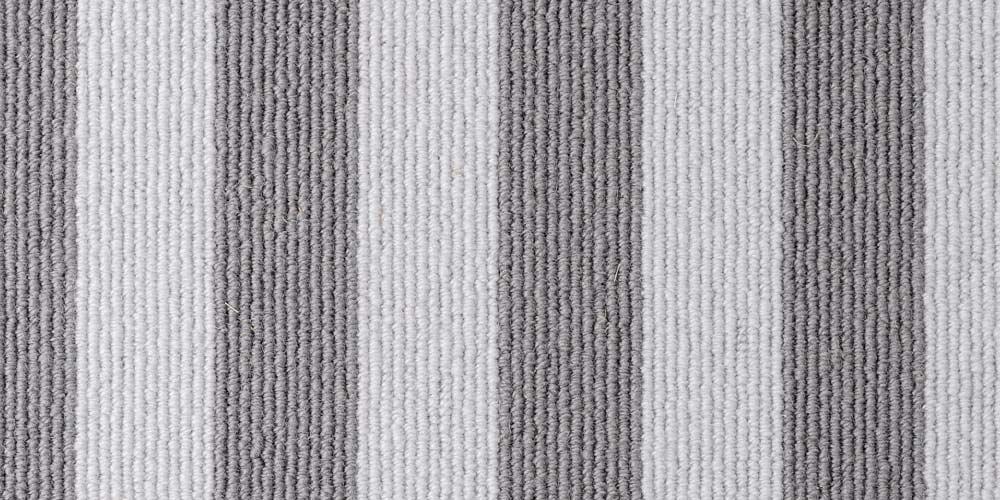 Moon Mineral Blocstripe Wool Carpet
