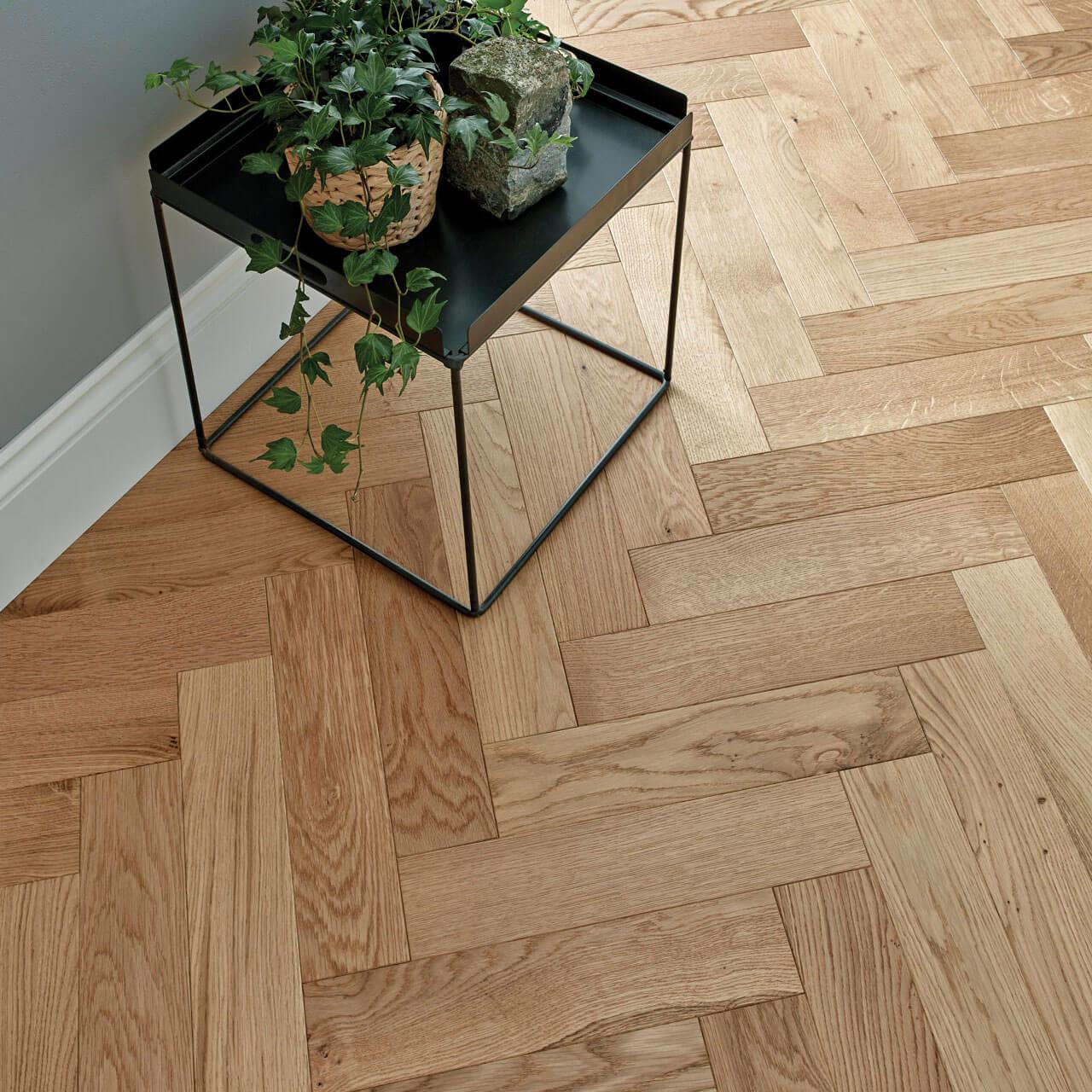 Natural Oak Goodrich Woodpecker Flooring Lifestyle