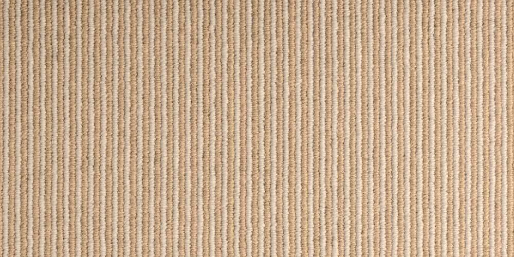 Ochre Stripe Pin Pinstrip Wool Runner
