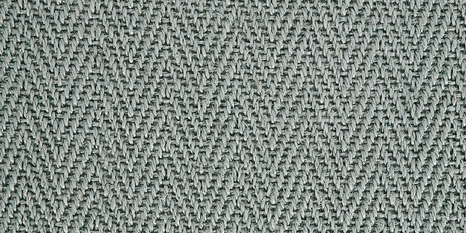 Pacific Blue Harmony Herringbone Sisal Carpet