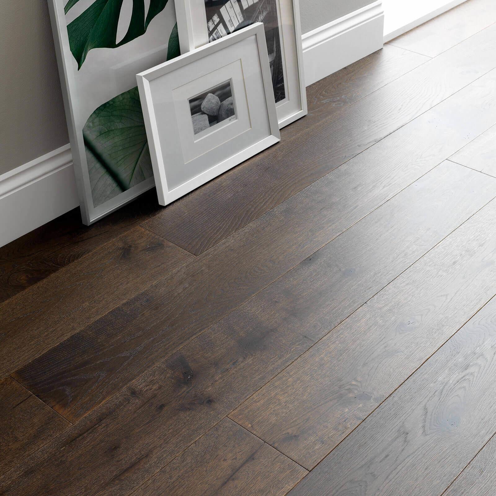 Planed Cocoa Oak UV Hardwax Oil Chepstow Woodpecker Flooring Lifestyle