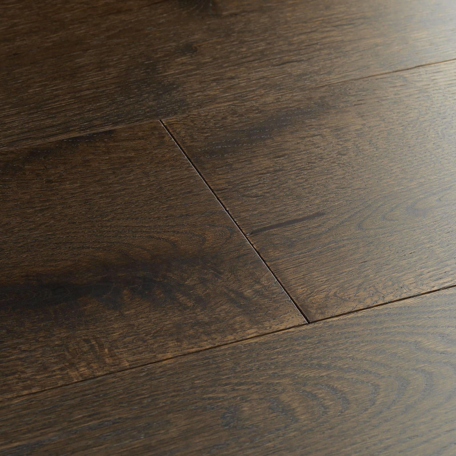 Planed Cocoa Oak UV Hardwax Oil Chepstow Woodpecker Flooring