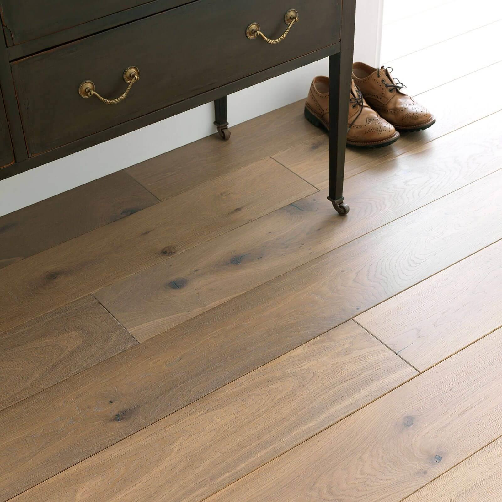 Planed Washed Oak UV Hardwax Oil Chepstow Woodpecker Flooring Lifestyle