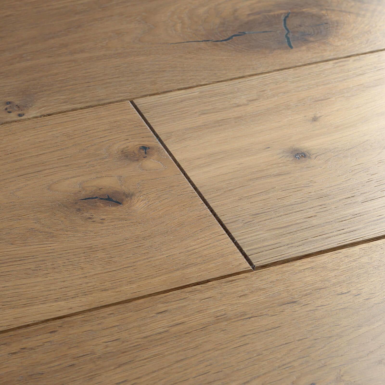 Planed Washed Oak UV Hardwax Oil Chepstow Woodpecker Flooring
