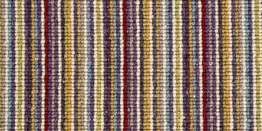 Plum   Green Mississippi Wool Carpet