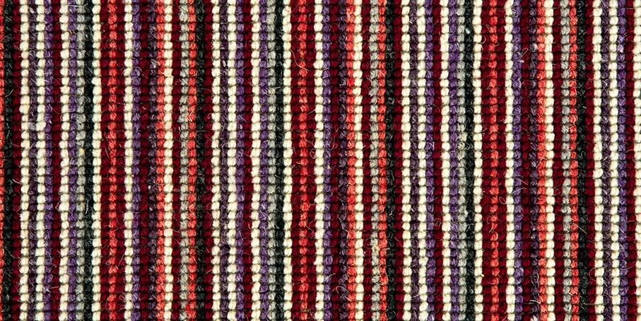 Red   Plum Mississippi Wool Carpet