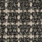 Rich Black Plaid Sisool Carpet 1
