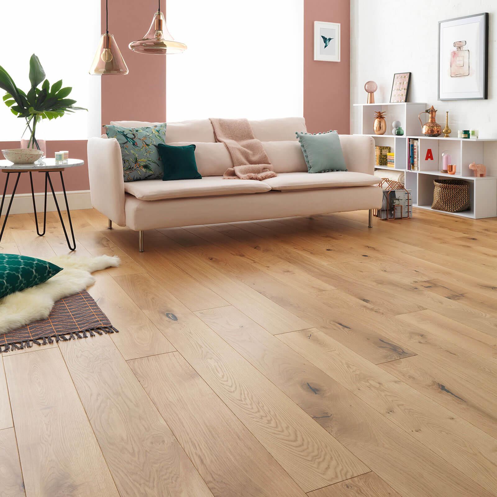 Rustic Oak Harlech Woodpecker Flooring Oiled Lifestyle 2