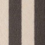 Sable Bone Blocstripe Wool Runner