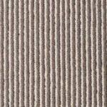 Sable Bone Pin Pinstrip Wool Carpet