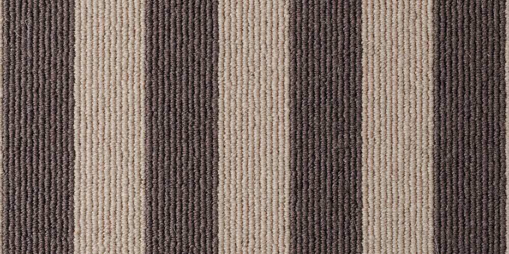 Sable Olive Blocstripe Wool Runner