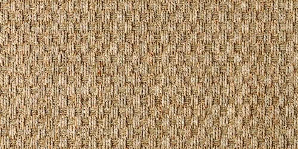 Seagrass Balmoral Basketweave Carpet