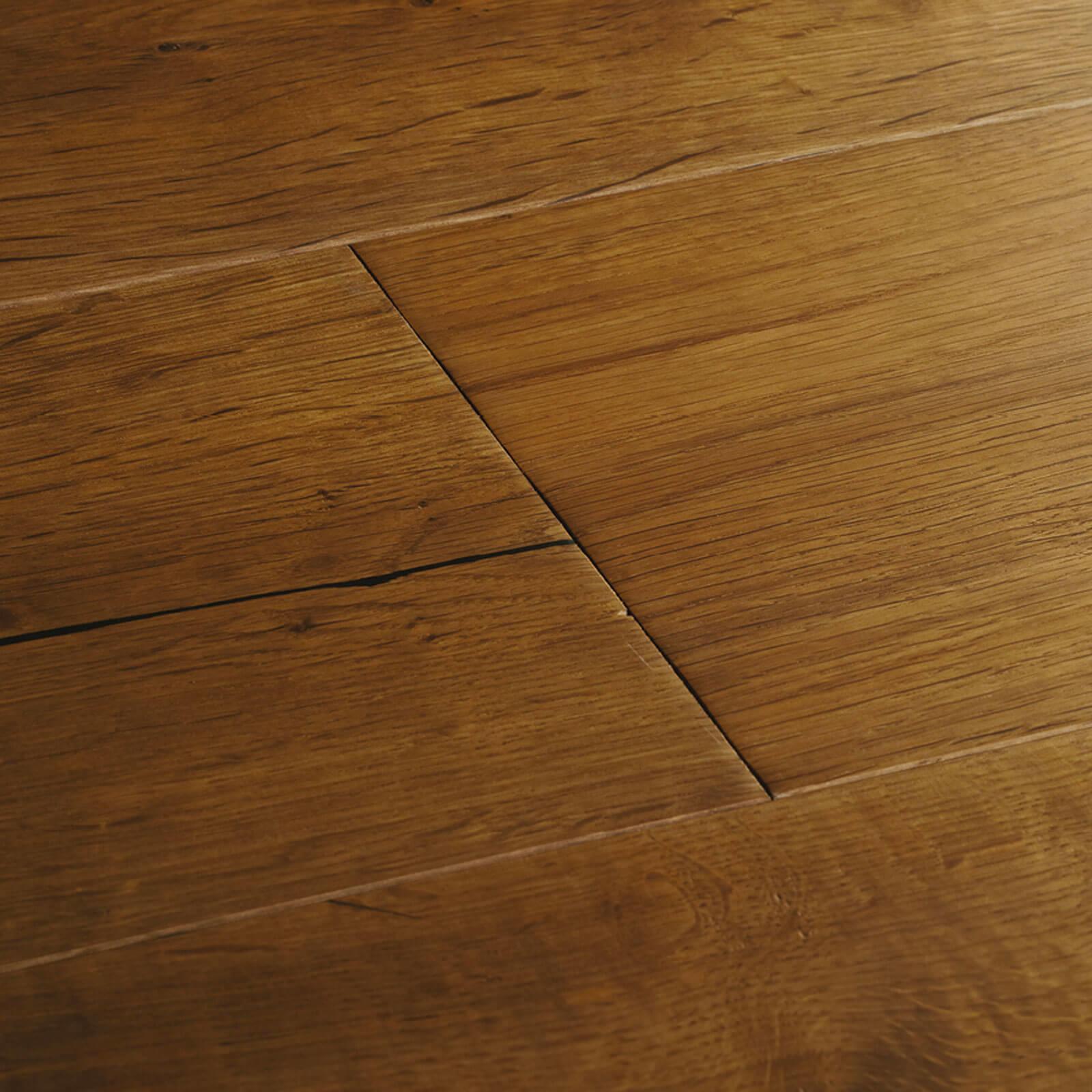 Smoked Oak Berkeley Woodpecker Flooring