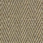 Smooth Pebble Harmony Herringbone Sisal Carpet