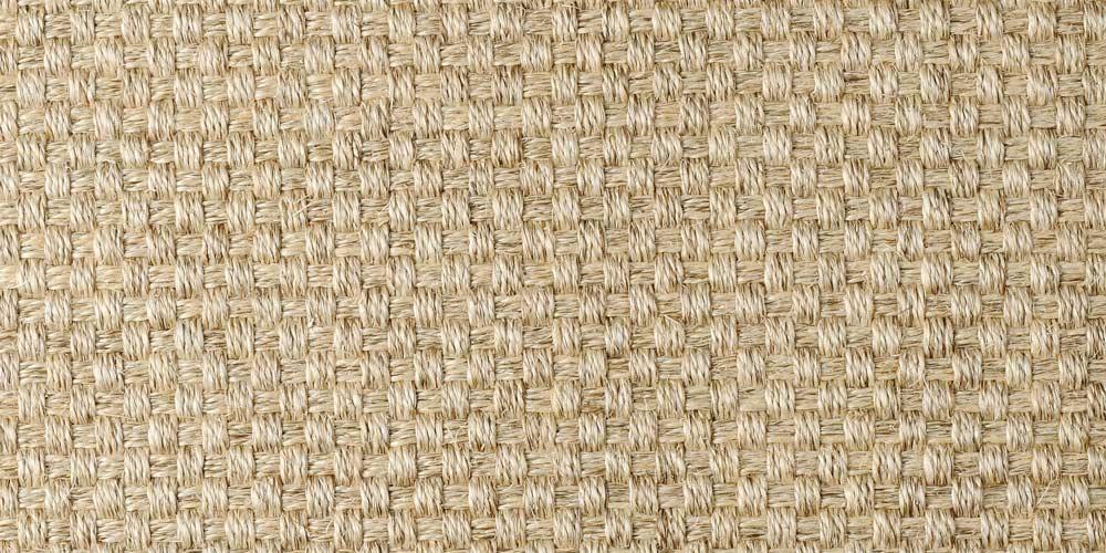 Summer Hamper Basketweave Sisal Carpet