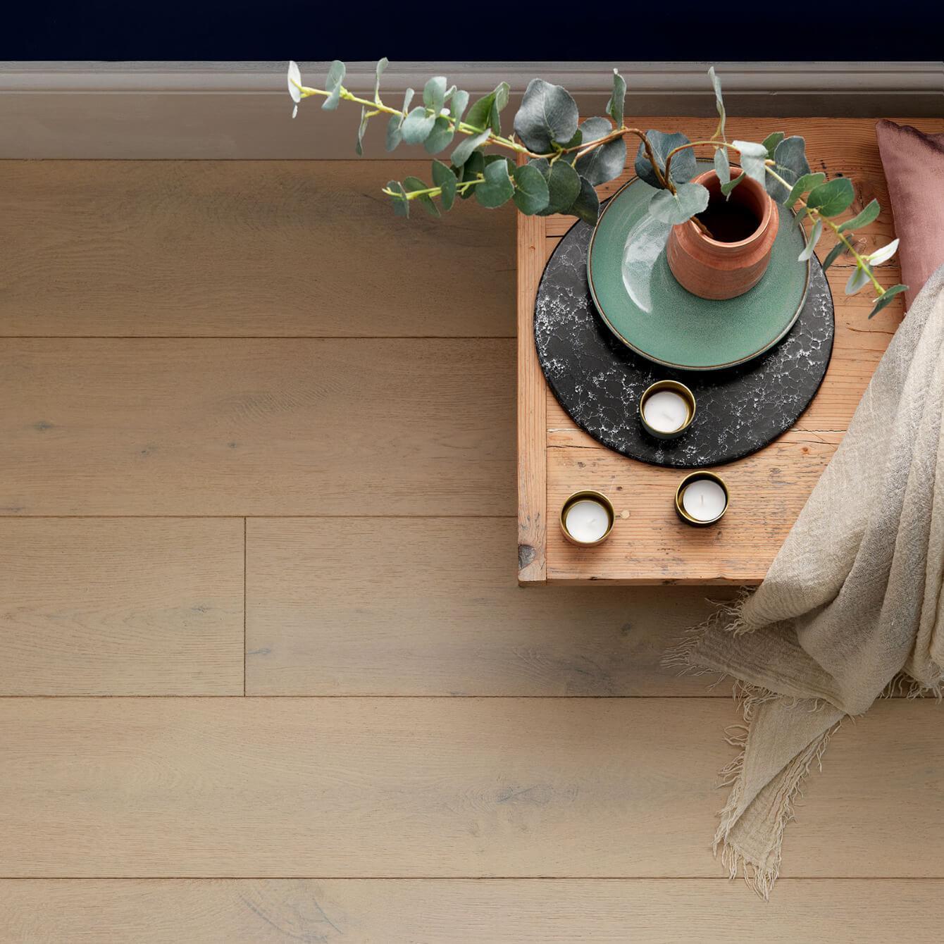 Vanilla Oak Chepstow Woodpecker Flooring Lifestyle