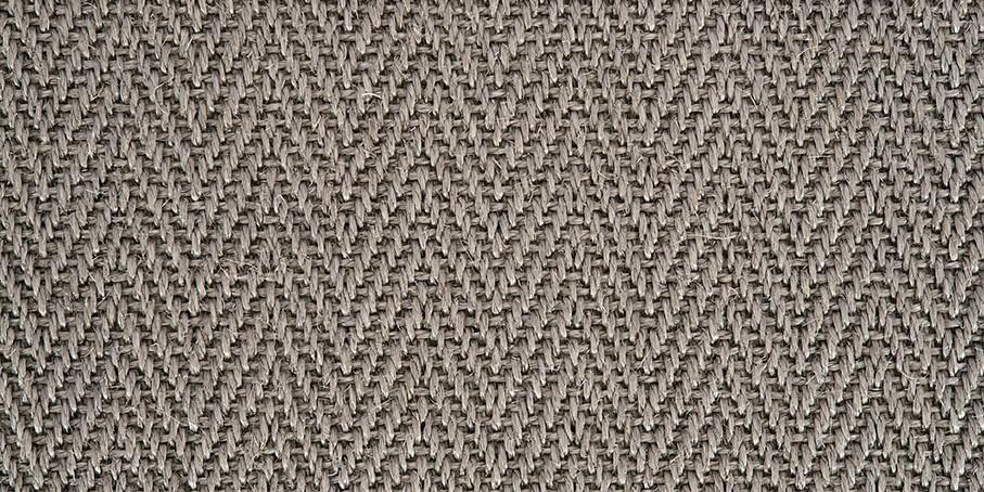 Warm Grey Harmony Herringbone Sisal Carpet