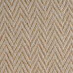 Zig Zag Mushroom Herringbone Wool Carpet