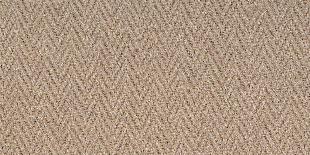 Zig Zag Portobella Herringbone Wool Carpet